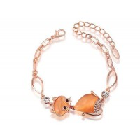 Low price discount jewelry selling jewelry rose gold bracelet cat style fast delivery