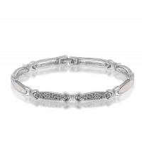 Low price selling models jewelry jewelry discounts platinum bracelet lancet shape fast delivery