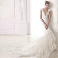 Europe and the United States market, new models of popular fashion dress low price high quality elegant bridal wedding Promotion