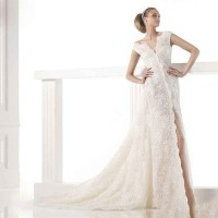 Low price discount sales promotion wedding Europe and the United States market wedding lace long tail bride wedding