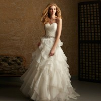 Winter new style low price bride wedding dress sexy low-cut long tail to find discount