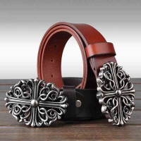 New low prices first layer of leather men's belt top material pure leather belt solid casual belt