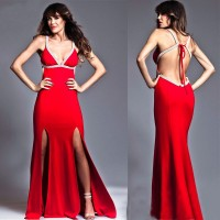 Low price of high-end hand-tailored dress dress promotion of international fashion evening dress