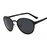 P8010 Men Women retro round frame sunglasses polarized sunglasses driving sunglasses