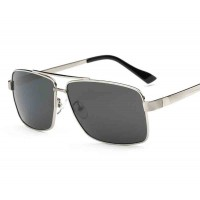 Discount men's sunglasses polarizer classic big box retro sunglasses polarizer driving mirror sunglasses P8712
