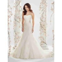 Year Low price high-end wedding the European market and the US market, international brands low-cut A-line style short tail wedding popular wedding