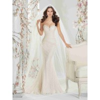 European market and the US market lower promotional price of high-end bridal lace fishtail wedding dress