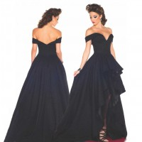 Evening dress new models in Europe and the United States market, low prices high bride dress dinner married toast dress straight lines shaped shoulder