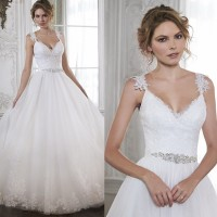 Wedding end side shoulder Slim waist diamond sexy little lace skirt long tail new style wedding