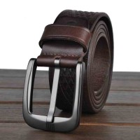 Popular high quality products and men's leather belt first layer of leather men's business casual belt