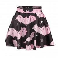 Fast delivery Batman pattern digital printing princess dress fashion slim big skirt skirts