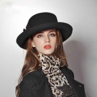 Popular new style of autumn and winter hat wool hat Ms. fashion warm hat child Ms. wool cap material