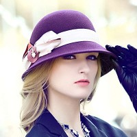 The new style autumn and winter hat winter hat lady fashion bow hat basin type hat