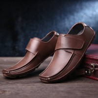Fast delivery Men's casual shoes leather first layer of skin shoes business shoes discounts