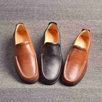 The new winter models casual leather men's shoes, men's leather shoes brand shoes low price fast delivery