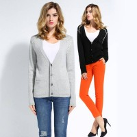 European stations fall and winter long-sleeved knit cashmere sweater thin autumn European market and the US market high-end large size ladies dress discount
