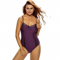 The new style swimsuit Ms. suspenders sleeveless sexy adult pool party bikini piece swimsuit 41394