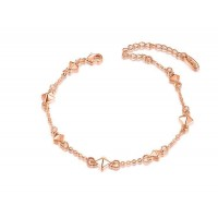 Promotions Ruili style diamond jewelry rose gold bracelet gold plated jewelry discount membership price