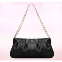 New casual leather header layer of leather ladies bag ladies fashion chain shoulder bag oblique child discounts