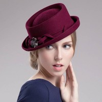 Ms. hat winter cap beret hat lady temperament popular autumn and winter hat lady fashion wool material