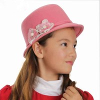 Popular autumn and winter new style childrens hats in Europe and the US market wool material cute hat warm hat Small
