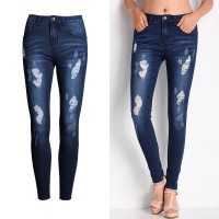 Ms. mounted hot sales in Europe and the US market style fashion Slim pants feet pants leg jeans discount