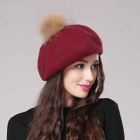 Ms. autumn and winter fashion beret cap lovely sweet casual warm winter hat DISCOUNTS