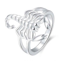 Jewelry in Europe and the United States market selling jewelry, discount fashion creative hand scorpion pattern hot sales jewelry ring