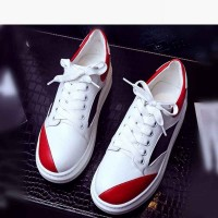 Spring new style shoes ladies' shoes in Europe and the US market, international brands lady casual flat shoes ladies fashion leather shoes.