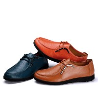 Fast Shipping New style summer fashion leather business shoes first layer of leather shoes material