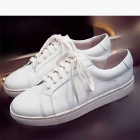 Spring new luxury ladies' shoes discount fashion casual shoes flat leather shoes Ms. stream