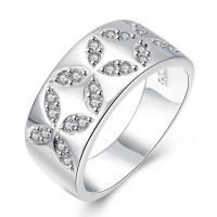 European market and the US market ring style hot sales discount new style hot selling low price fashion jewelry silver ring discounts