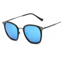 P8128 new models polarizer tide polarized sunglasses mirror sunglasses color film metal metal Material discount glasses
