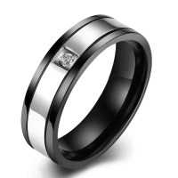 New fashion stainless steel ring jewelry popular fashion jewelry low price discount men's section Rings
