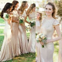 Dresses discount new style on both sides of the shoulder long dress Slim fishtail dress toast clothing wedding dress fishtail evening gown multicolor