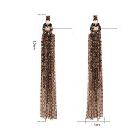 Limited discount European market and the US market discount fashion jewelry, new style personality tassel earrings earrings Ms.