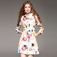 Spring and summer popular new models in Europe and the US market, international brands of high-end women's dress fast delivery