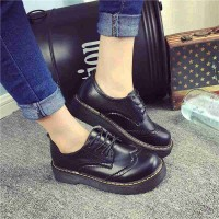 Promotional discount popular ladies shoes autumn and winter of ladies shoes British style retro lady shoes tendon fast delivery