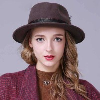 Promotion retro autumn and winter in Europe and the US markets jazz hat fashion hats and caps for Men Women Material quality wool cap