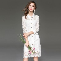 Autumn popular in Europe and the US market, international brands of high-end women's dress fast delivery