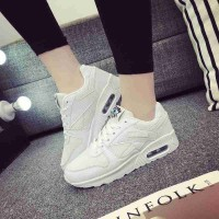 Fast delivery of new models of air inside the high-heeled ladies' shoes running shoes spring student casual shoes Ms.