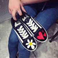 Matte embroidery lace shoes to help low flat casual shoes, ladies shoes, fashion shoes driving shoes breathable