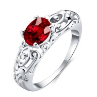 Europe and the US market selling platinum color CZ Ring