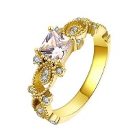 Low prices Hot sales New Arrivals Europe and the United States market selling 18K gold plated party ring finger promotional discounts