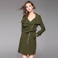 Autumn popular new models in Europe and the US market, international brands of high-end women's windbreaker fast delivery