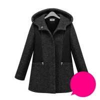 Europe and the US cotton market large size women's winter new style