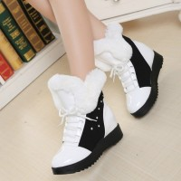 Ms. diamond decoration thick boots cotton boots winter new style discount lady comfortable and warm snow boots Ms. thick heel