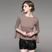 Autumn popular new models in Europe and the US market, international brands of high-end women's knitwear fast delivery