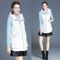 Ms. Ms. vest down vest new winter models Slim Short thick hooded jacket Promotions