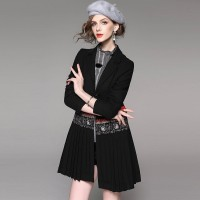 Autumn popular new models in Europe and the US market, international brands of high-end women's casual suit fast delivery